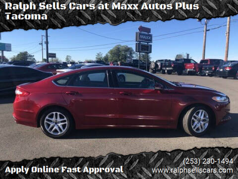 2016 Ford Fusion for sale at Ralph Sells Cars at Maxx Autos Plus Tacoma in Tacoma WA