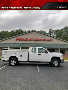 2013 Chevrolet Silverado 2500HD for sale at Poole Automotive in Laurinburg NC
