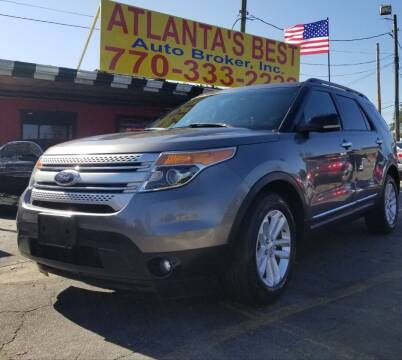 2012 Ford Explorer for sale at Atlanta's Best Auto Brokers in Marietta GA