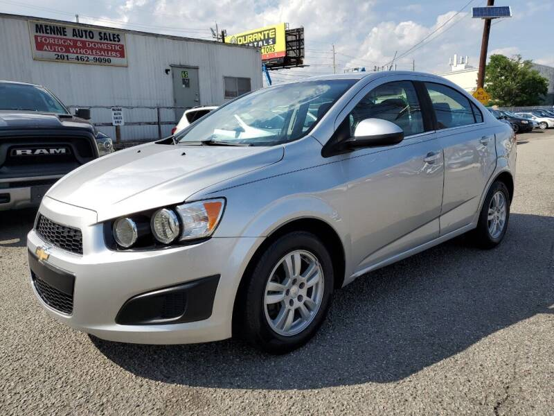 2014 Chevrolet Sonic for sale at MENNE AUTO SALES in Hasbrouck Heights NJ