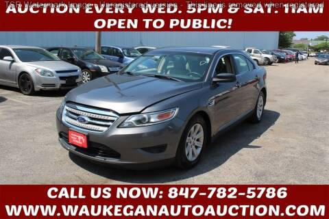 2011 Ford Taurus for sale at Waukegan Auto Auction in Waukegan IL