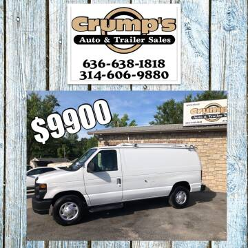 2011 Ford E-Series Cargo for sale at CRUMP'S AUTO & TRAILER SALES in Crystal City MO