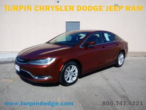 2015 Chrysler 200 for sale at Turpin Dodge Chrysler Jeep Ram in Dubuque IA