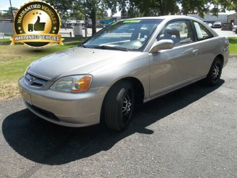 2003 Honda Civic for sale at Central Denver Auto Sales in Englewood CO