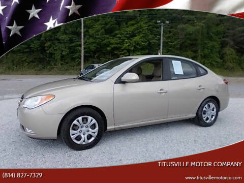 2010 Hyundai Elantra for sale at Titusville Motor Company in Titusville PA