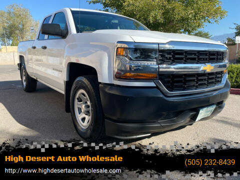2016 Chevrolet Silverado 1500 for sale at High Desert Auto Wholesale in Albuquerque NM