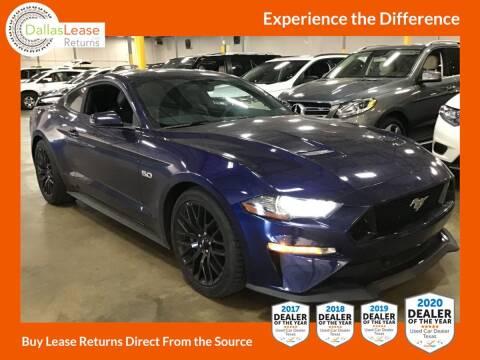 2018 Ford Mustang for sale at Dallas Auto Finance in Dallas TX