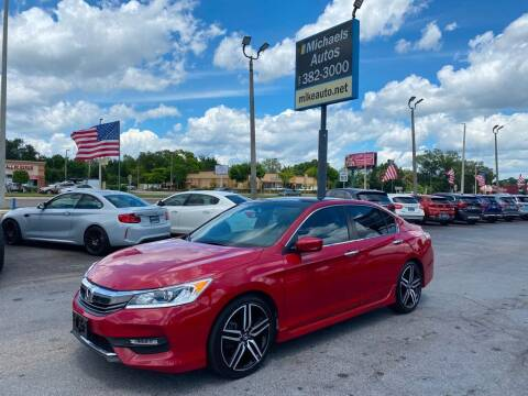 2017 Honda Accord for sale at Michaels Autos in Orlando FL