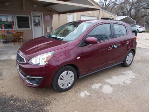 2017 Mitsubishi Mirage for sale at DISCOUNT AUTOS in Cibolo TX