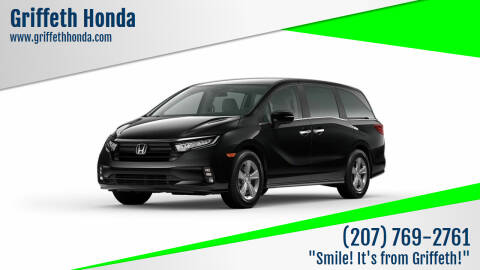 2022 Honda Odyssey for sale at Griffeth Honda in Presque Isle ME