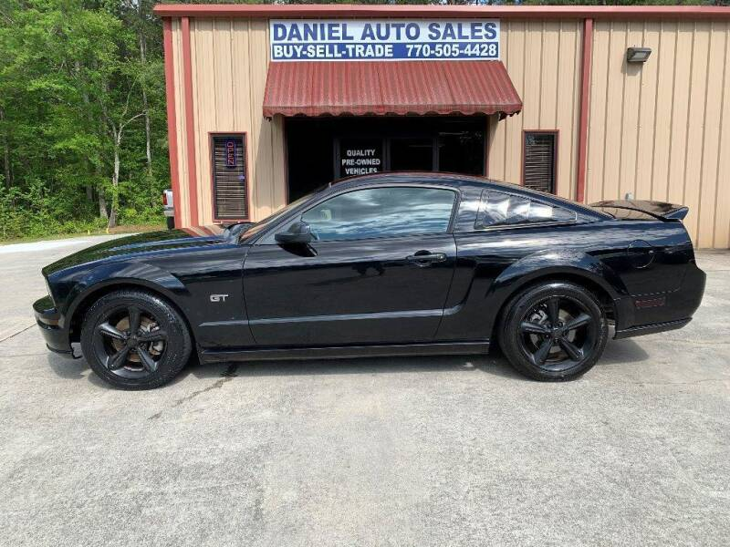 2006 Ford Mustang for sale at Daniel Used Auto Sales in Dallas GA