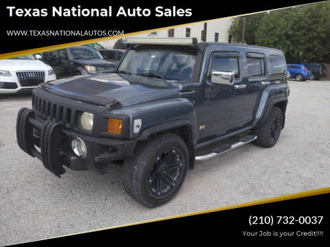 2006 HUMMER H3 for sale at Texas National Auto Sales in San Antonio TX