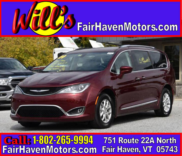 2020 Chrysler Pacifica for sale at Will's Fair Haven Motors in Fair Haven VT