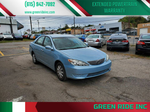 2006 Toyota Camry for sale at Green Ride Inc in Nashville TN