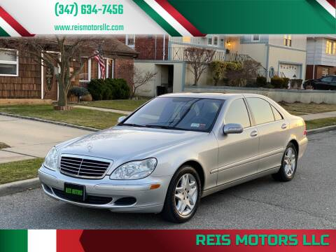 2003 Mercedes-Benz S-Class for sale at Reis Motors LLC in Lawrence NY