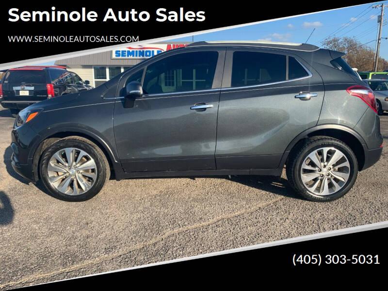2017 Buick Encore for sale at Seminole Auto Sales in Seminole OK