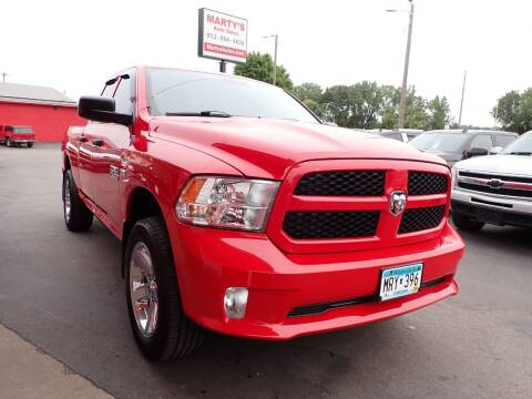 2013 RAM Ram Pickup 1500 for sale at Marty's Auto Sales in Savage MN