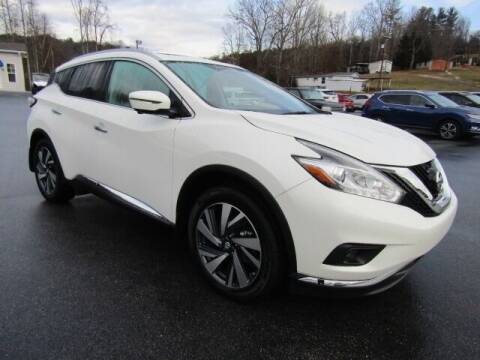 2018 Nissan Murano for sale at Specialty Car Company in North Wilkesboro NC