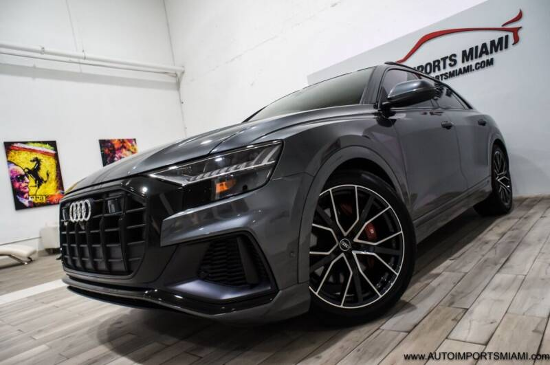 2021 Audi SQ8 for sale at AUTO IMPORTS MIAMI in Fort Lauderdale FL