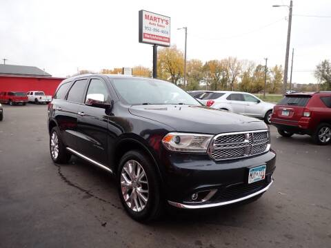 2014 Dodge Durango for sale at Marty's Auto Sales in Savage MN