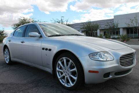 2005 Maserati Quattroporte for sale at Insight Motors in Tempe AZ