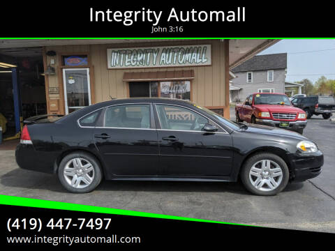 2012 Chevrolet Impala for sale at Integrity Automall in Tiffin OH