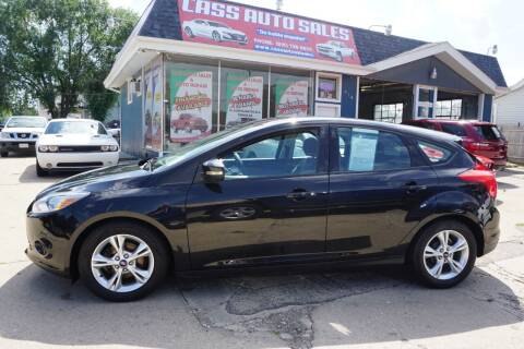2014 Ford Focus for sale at Cass Auto Sales Inc in Joliet IL