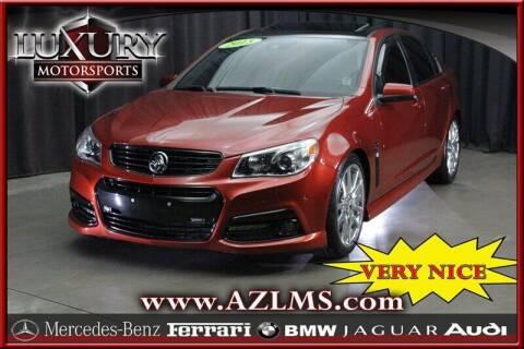2015 Chevrolet SS for sale at Luxury Motorsports in Phoenix AZ