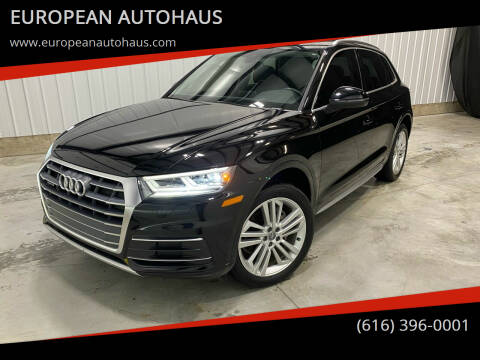 2018 Audi Q5 for sale at EUROPEAN AUTOHAUS in Holland MI
