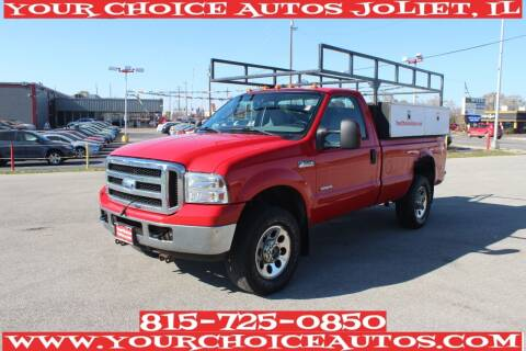 2006 Ford F-350 Super Duty for sale at Your Choice Autos - Joliet in Joliet IL