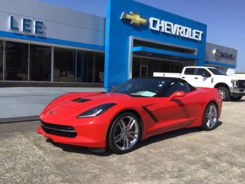 2017 Chevrolet Corvette for sale at LEE CHEVROLET PONTIAC BUICK in Washington NC