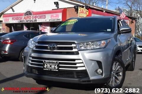 2018 Toyota Highlander for sale at www.onlycarsnj.net in Irvington NJ
