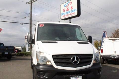 2016 Mercedes-Benz Sprinter Cargo Vans for sale at S&S Best Auto Sales LLC in Auburn WA