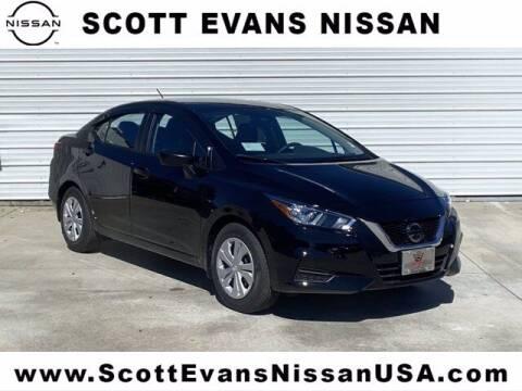 2021 Nissan Versa for sale at Scott Evans Nissan in Carrollton GA