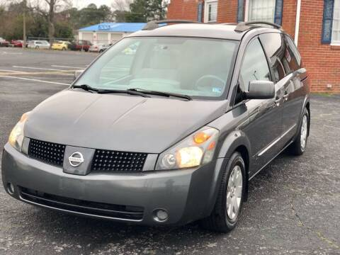 2006 Nissan Quest for sale at Carland Auto Sales INC. in Portsmouth VA