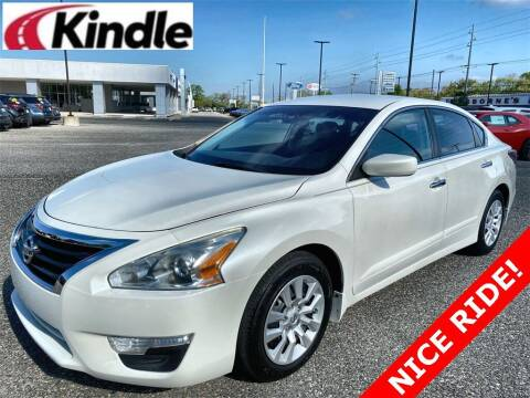 2015 Nissan Altima for sale at Kindle Auto Plaza in Middle Township NJ