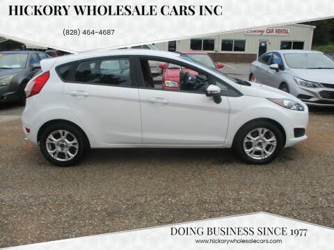 2016 Ford Fiesta for sale at Hickory Wholesale Cars Inc in Newton NC