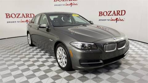 2014 BMW 5 Series for sale at BOZARD FORD in Saint Augustine FL