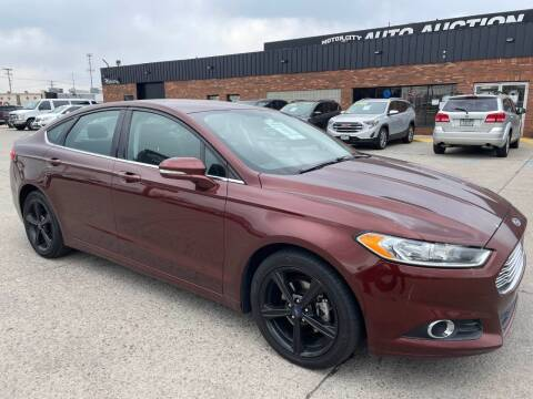 2016 Ford Fusion for sale at Motor City Auto Auction in Fraser MI