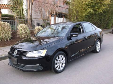 2012 Volkswagen Jetta for sale at Eastside Motor Company in Kirkland WA