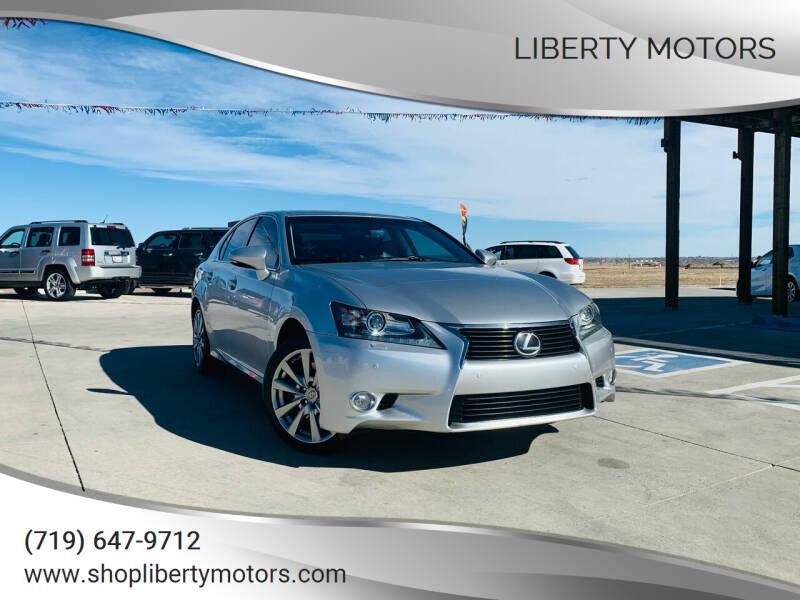 2013 Lexus GS 350 for sale at LIBERTY MOTORS in Pueblo West CO
