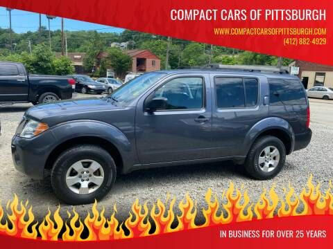 2012 Nissan Pathfinder for sale at Compact Cars of Pittsburgh in Pittsburgh PA