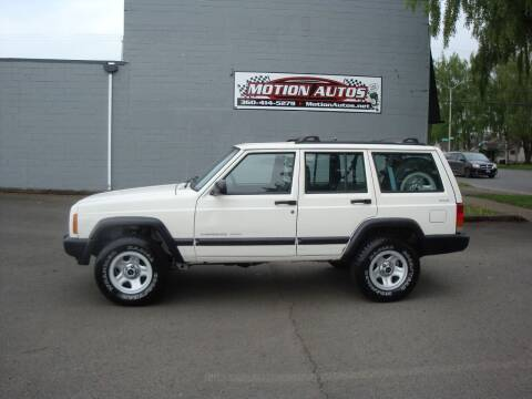 2001 Jeep Cherokee for sale at Motion Autos in Longview WA