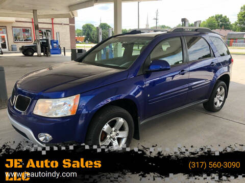 2007 Pontiac Torrent for sale at JE Auto Sales LLC in Indianapolis IN