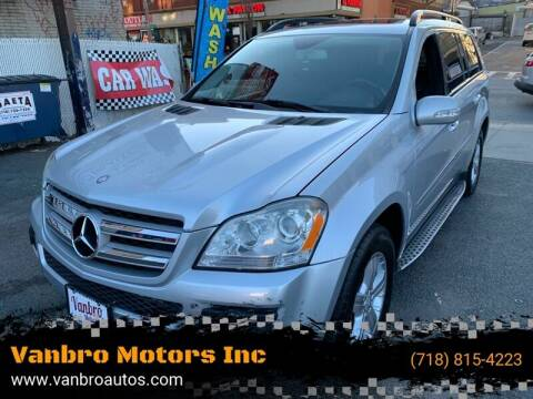 2008 Mercedes-Benz GL-Class for sale at Vanbro Motors Inc in Staten Island NY