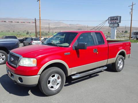 2007 Ford F-150 for sale at Super Sport Motors LLC in Carson City NV
