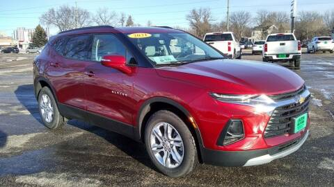 2021 Chevrolet Blazer for sale at Unzen Motors in Milbank SD