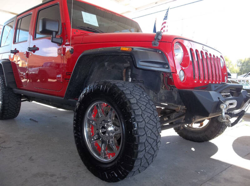 2015 Jeep Wrangler Unlimited for sale at Broken Arrow Motor Co in Broken Arrow OK