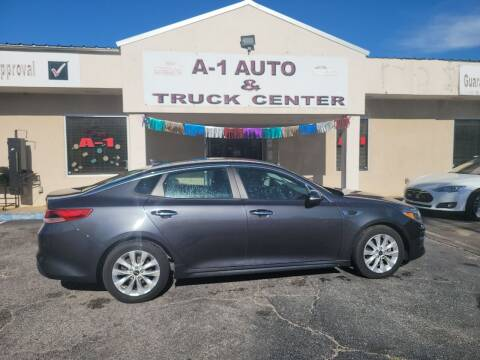 2017 Kia Optima for sale at A-1 AUTO AND TRUCK CENTER in Memphis TN