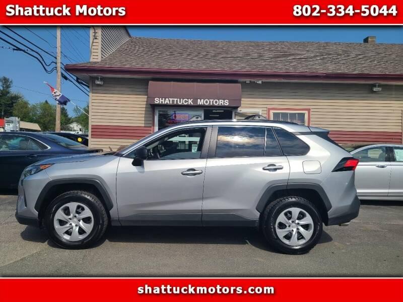 2019 Toyota RAV4 for sale at Shattuck Motors - NEKtrucks.com in Newport VT